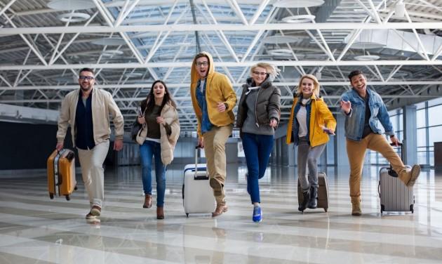 Az egyetemisták kevésbé félnek az utazás kockázataitól