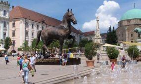 Fesztivál a reneszánsz jegyében Pécs belvárosában