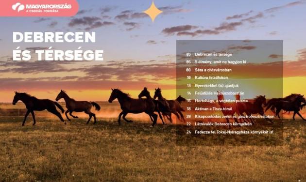 Letölthető a Debrecen és térségét bemutató új MTÜ-kiadvány