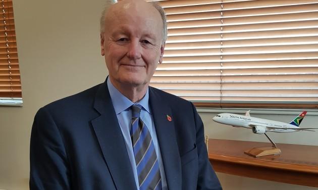 Új vezetés és szerkezetátalakítás a South African Airlinesnál