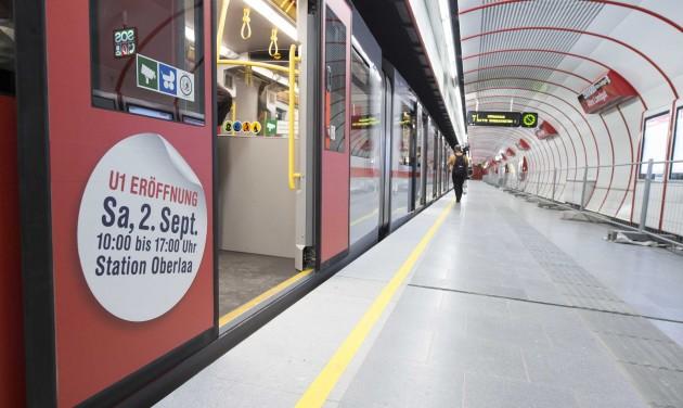 Elkészült Bécs leghosszabb metróvonala