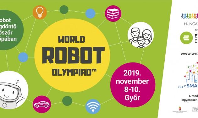 XVI. World Robot Olympiad Győrben