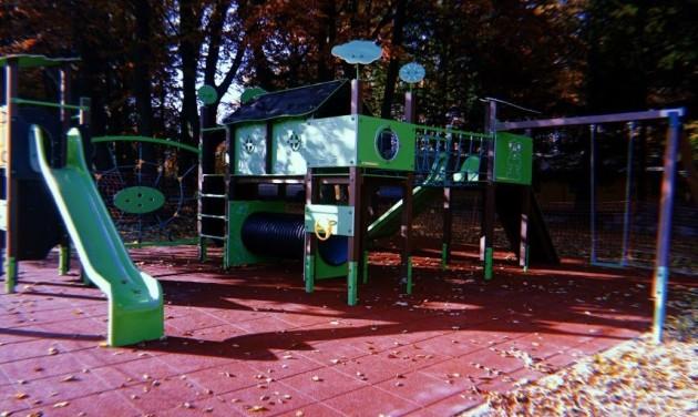 Felújították a hegyi játszóteret Kékestetőn