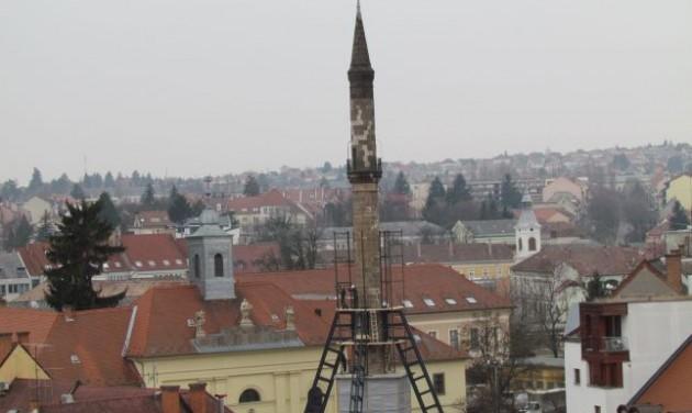 Nyáron újra látogatható lesz az egri minaret