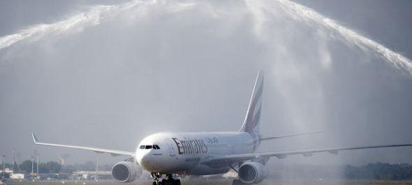 Megérkezett Budapestre az Emirates első járata