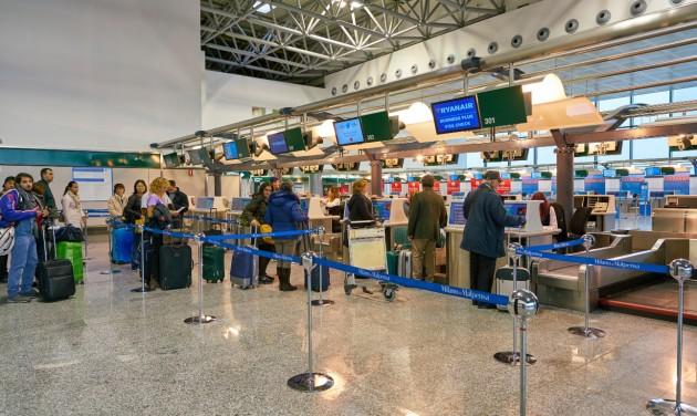Csak szúrópróbaszerűen ellenőriznek az olasz repülőtereken
