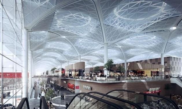 Felavatták Isztambul új nemzetközi repülőterét
