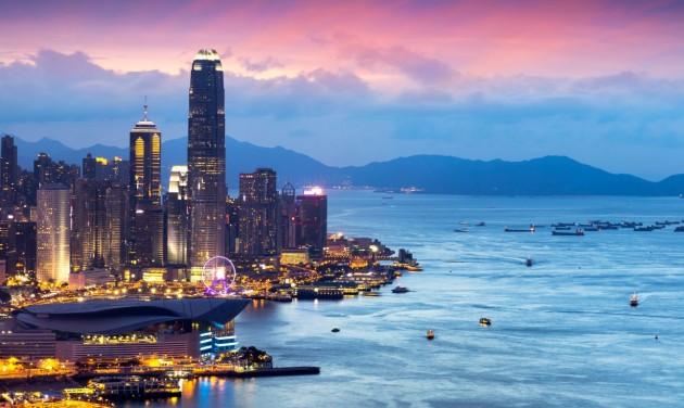 Visszaesett Hongkong turizmusa tavaly a tüntetések miatt
