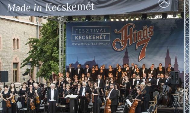 Több mint 200 kiállító a Hírös7 Fesztiválon