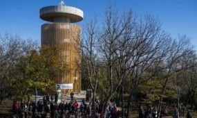 Átadták a pilis-tetői Boldog Özséb-kilátót