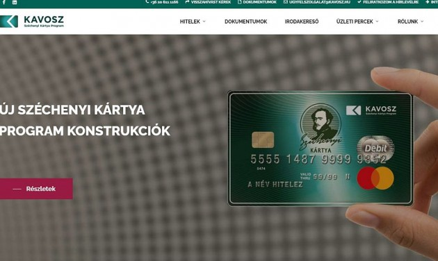 Meghosszabbították a Széchenyi Kártya Program kríziskonstrukcióit