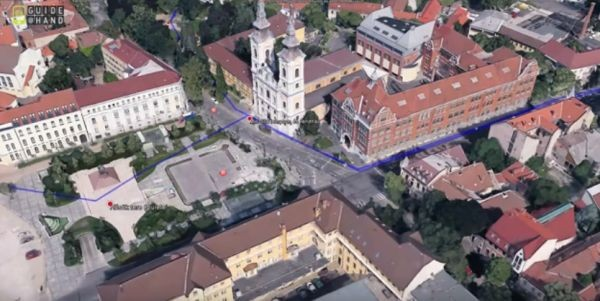 Miskolc belvárosa a megújult Google Earth-ben
