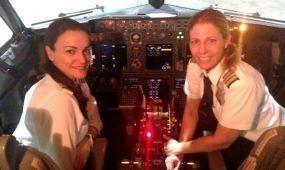 Történelmet írt az első csak női pilótafülkével az El Al