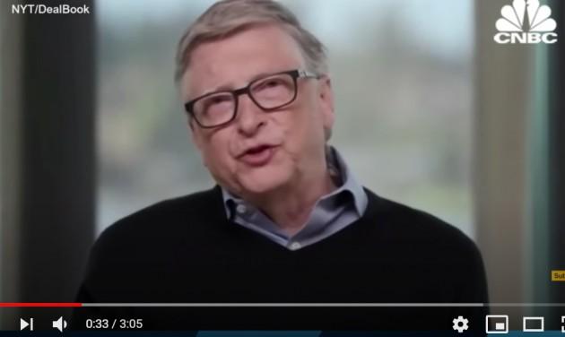 Bill Gates szerint az üzleti turizmus fele megy a levesbe