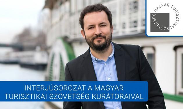 Ruprecht László: folyamatos fejlődés a turizmusban és a vendéglátásban