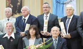 Zala megye kitüntette Baldauf Csabát