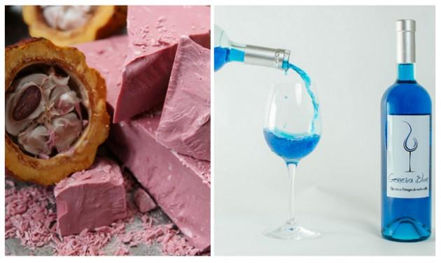 Új őrület Svájcban: rózsaszín csokoládé és kék bor