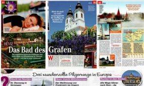 Hévíz  Németország egyik közkedvelt magazinjában