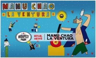 Manu Chao ismét a Parkban