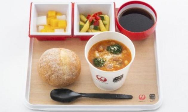 Forró leves a Japan Airlines nemzetközi járatain