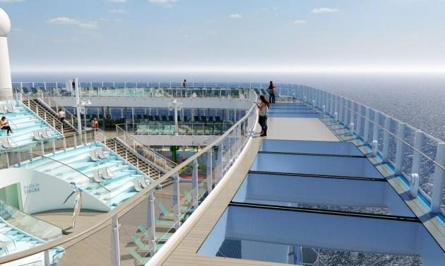 Hamarosan útra kel a Costa Smeralda dizájnhajó