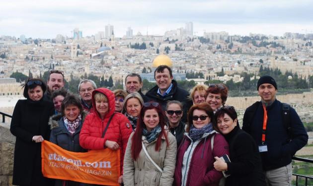 Izraeli tanulmányutat szervezett az Utazom.com