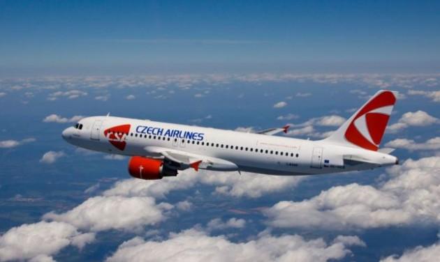 Tekintélyes forgalomnövekedés a cseh légitársaságnál