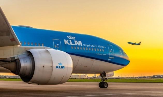 Több mint 160 célállomásra közlekedik télen a KLM