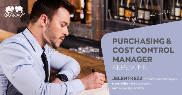 Purchasing & Cost Control Manager, Gundel Étterem