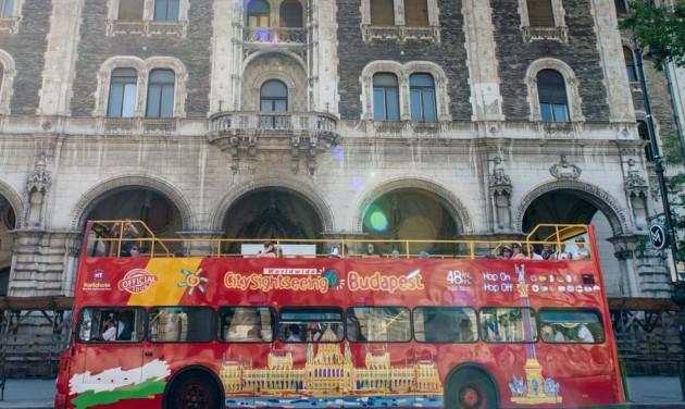 Már négyéves a City Sightseeing Budapesten