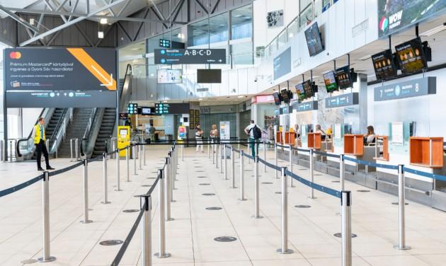 Felfelé ível az utazási kedv a Budapest Airporton