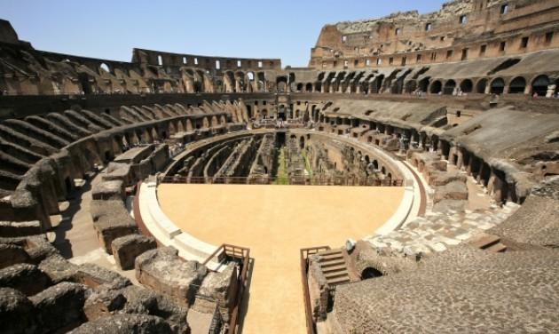 Látogatható lesz a római Colosseum arénája