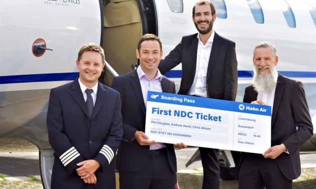 Bemutatkozott a Hahn Air NDC-platformja