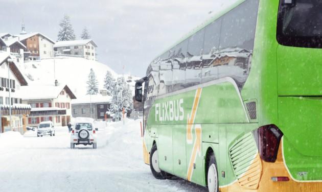 Menetrend szerinti buszokkal a szlovák sípályákhoz