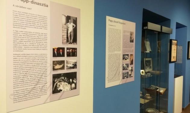 Üljünk le egy szóra! - a Papp dinasztia a vendéglátóipari múzeumban