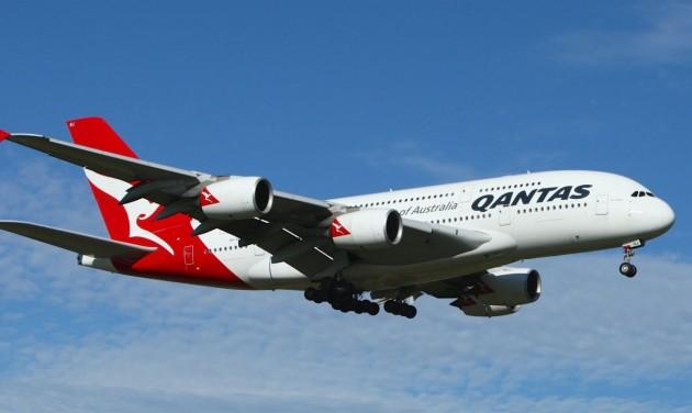 Sikeres a Qantas maratoni járata
