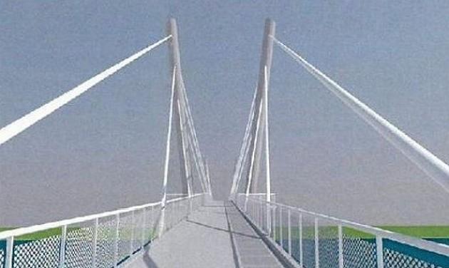 Épülhet a gyalogos-kerékpáros híd hazai része Dunakilitinél