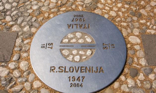 Olaszország és Szlovénia megnyitotta az első közös határátkelőt