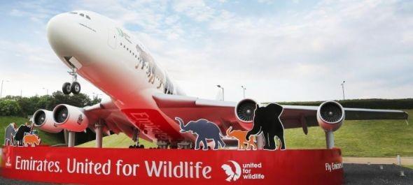 Így üzen az Emirates az illegális vadkereskedelem ellen