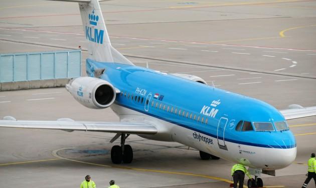 Beperelték a KLM-et