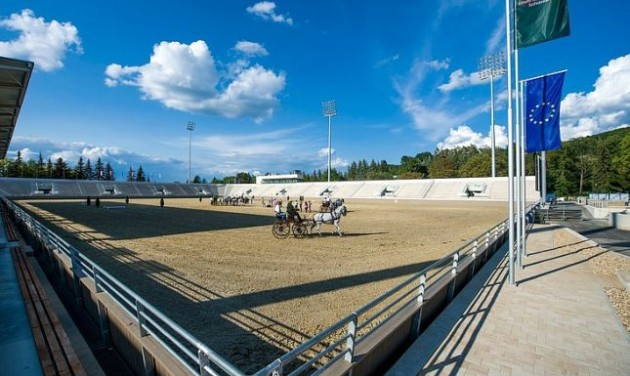 Megnyílt a felújított lovasközpont Szilvásváradon