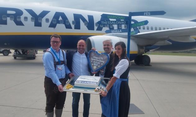 Nagyváradra is repül Memmingenből jövőre a Ryanair