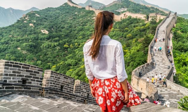 Csak enyhe fellendülést hozott a hosszú hétvége Kína turizmusában