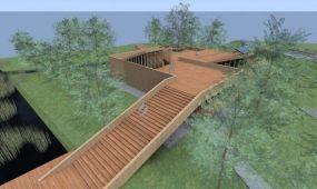 Elkezdődött a látogatóközpont építése Orfűn