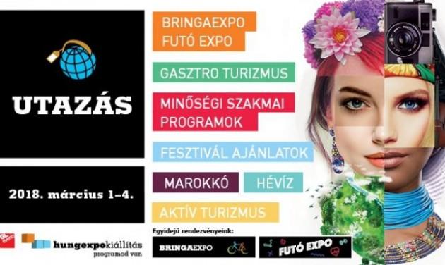 Budapest infopultokkal az Utazás kiállításon 2018-ban is