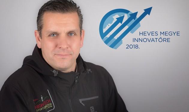 Heves megye innovatőre lett a High-Tech Sportok Bázisának vezetője