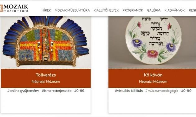 Múzeumok online tartalmainak keresőoldala indult el
