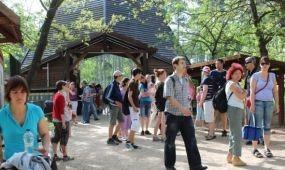 Százezredik látogató a Budakeszi Vadasparkban