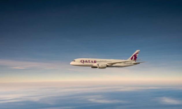 A nyáron már heti ötször repül Budapestre a Qatar Airways