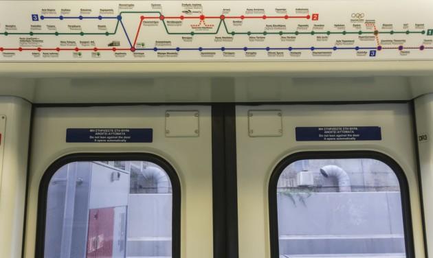 Új metrószakaszt adtak át Athénban